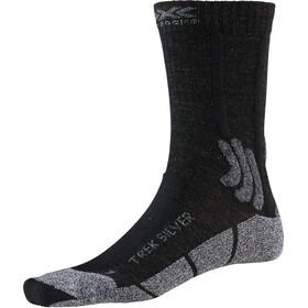 X-Socks Trek Silver Strømper Herrer, opal black/dolomite grey melange